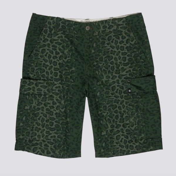 Element Legion Cargo Short - Green Leopard - Born Store