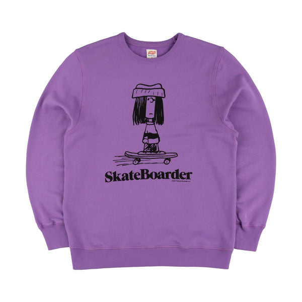 TSPTR Skateboarder Crew Sweat - Purple