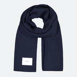 Makia Logical Scarf - Dark Navy - Born Store