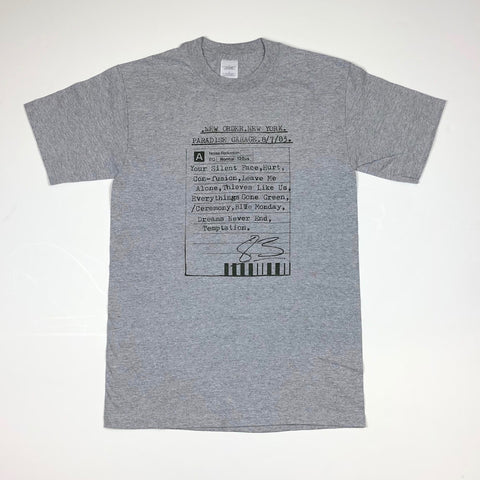 Deadstock Paradise Tee - Grey Heather