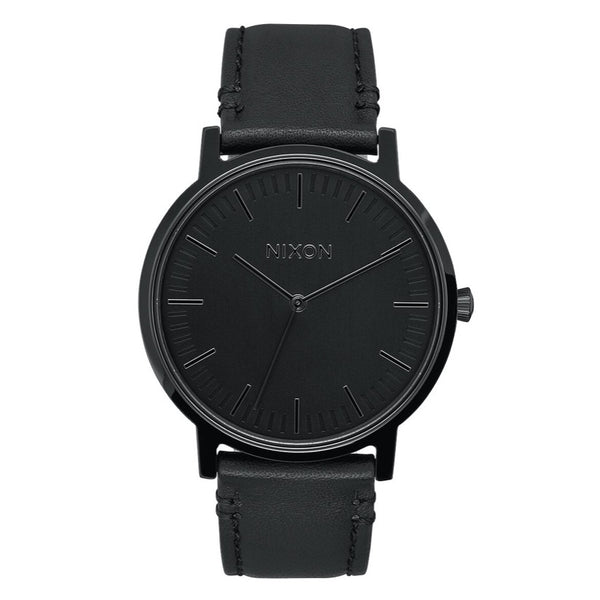 Nixon Porter Leather - All Black