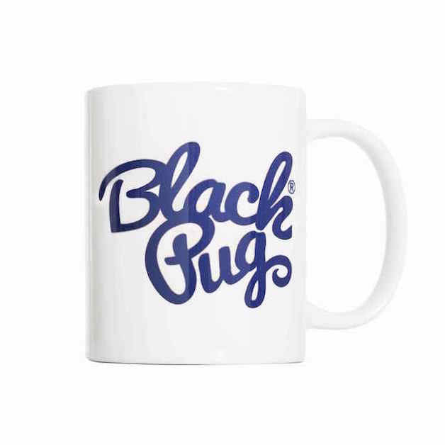 Black Pug Coffee Mug - Born Store