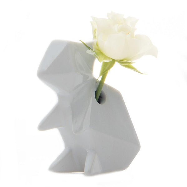 Chive Ceramic Rabbit - Grey - Born Store