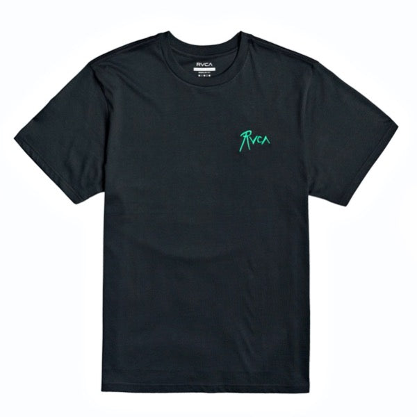 RVCA Gorgeous Hussy Tee Shirt - Black - Born Store