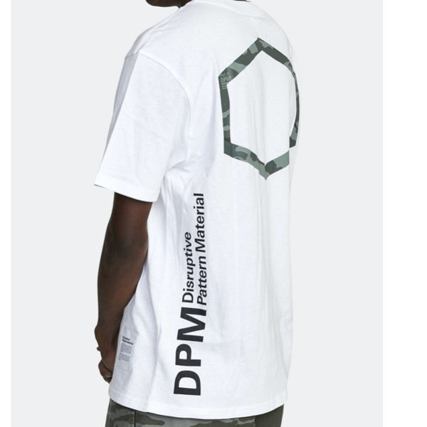 RVCA DPM S/S Pocket Tee Shirt - White