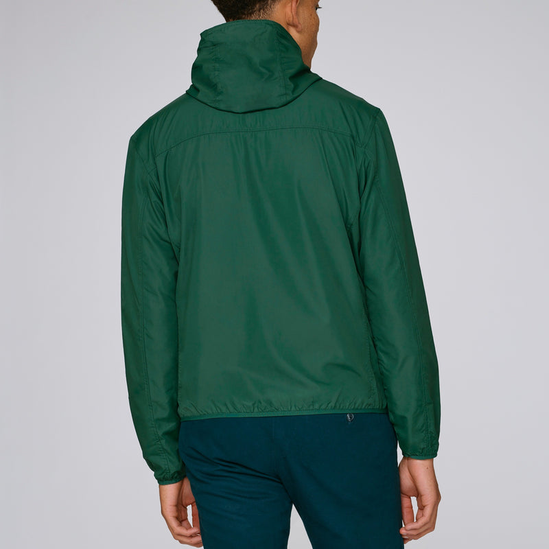 Born Essentials Hooded Light Wind Jacket - Bottle Green - Born Store