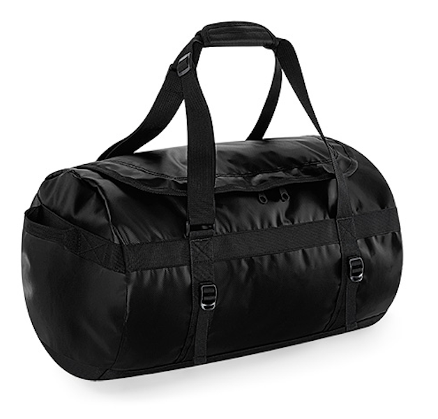 Base Bag - Tarp 50 Litre Duffle - Black