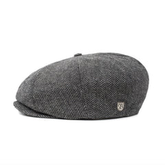 Brixton Brood Snap Cap - Grey/Black
