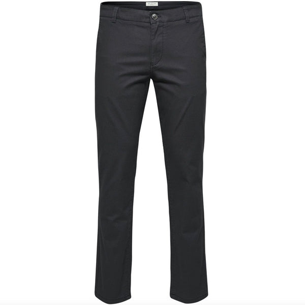 Selected Homme Straight Fit Paris Pant - Phantom