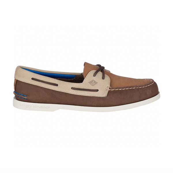 Sperry Authentic Original Plush Washable Boat Shoe - Brown/Tan - Born Store