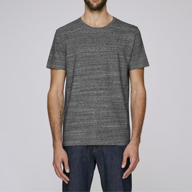 Born Essentials Organic Cotton S/S Tee Shirt - Slub Steel Grey - Born Store