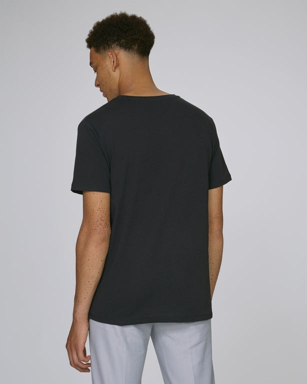 Born Essentials Organic Cotton S/S Tee Shirt - Black Denim - Born Store