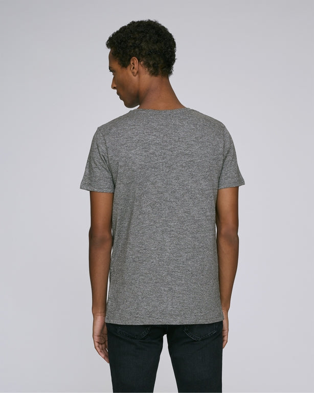 Born Essentials Organic Cotton S/S Tee Shirt - Heather Grey - Born Store