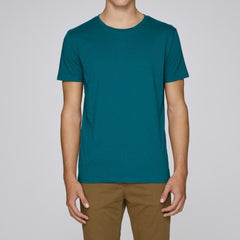 Born Essentials Organic Cotton S/S Tee Shirt - Ocean Depth