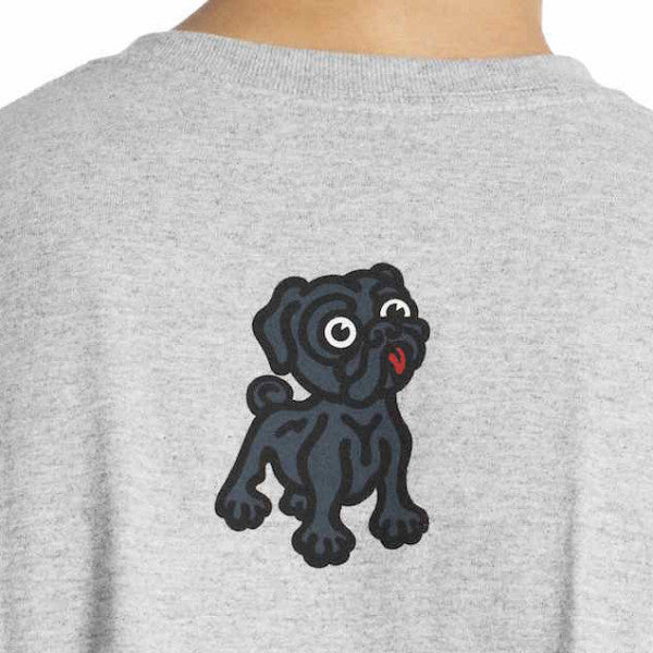 Black Pug Stock Logo Tee