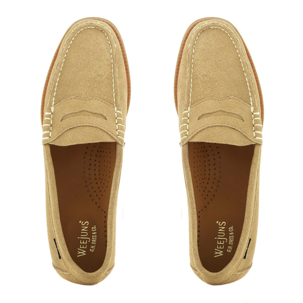 GH Bass Weejun WMN Penny Loafers - Earth - Born Store