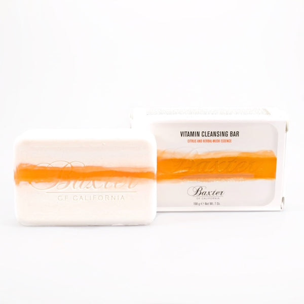 Baxter of California VITAMIN CLEANSING BAR (CITRUS / HERBAL MUSK) - Born Store