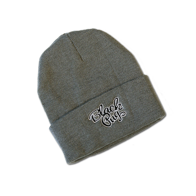 Black Pug Stock Logo Beanie - Born Store