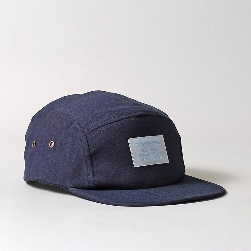 Black Pug Military 5 Panel Cap - Navy - Born Store