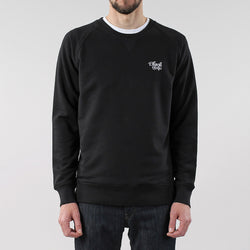 Black Pug Basic Crew Sweat - Black - Born Store