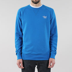 Black Pug Basic Crew Sweat - Royal Blue - Born Store