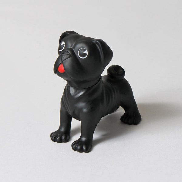 Black Pug Rocky Doll - Born Store