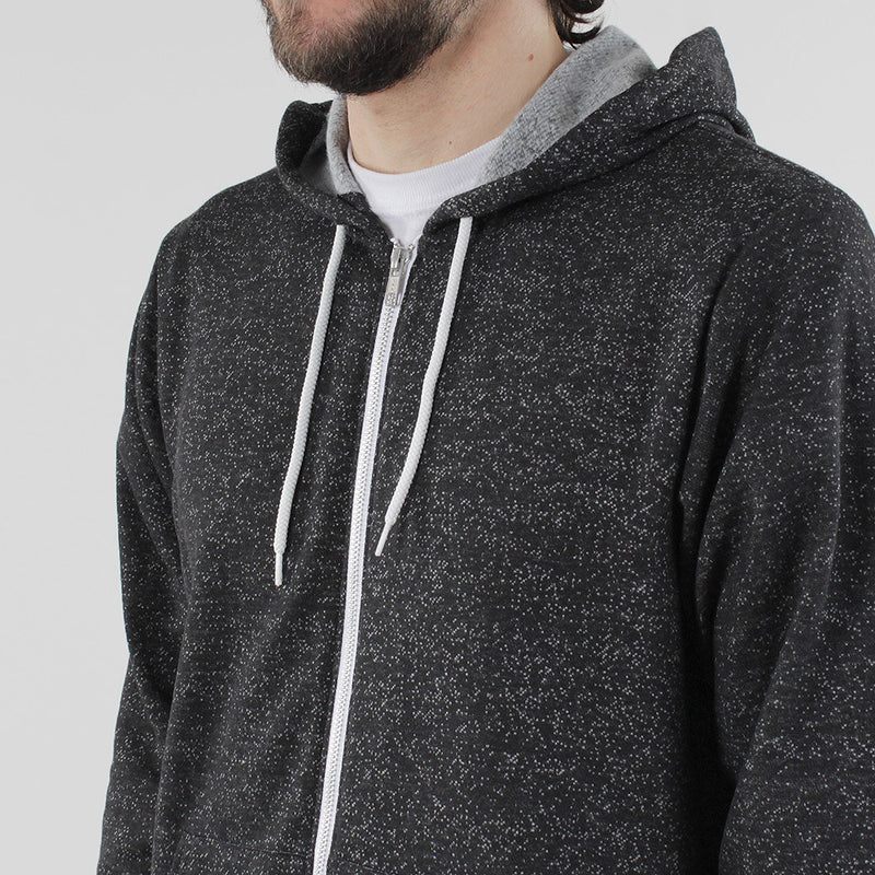 Black Pug Light Weight Zip Hoodie - Black - Born Store