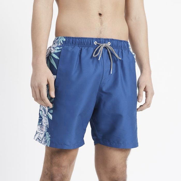 Boardies Aloha Side Panel Shorts - Blue - Born Store