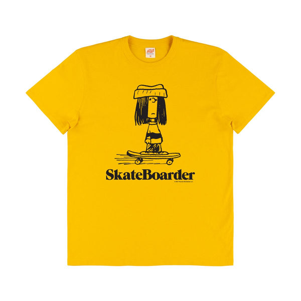 TSPTR Skateboarder Tee Shirt - Yellow