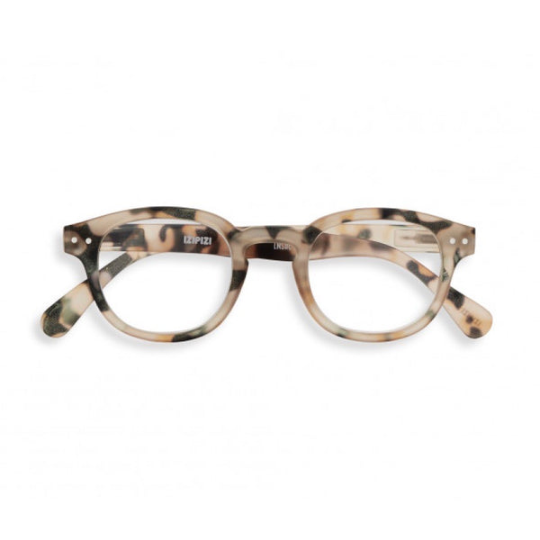 Izipizi Reading Glasses Style C - Light Tortoise
