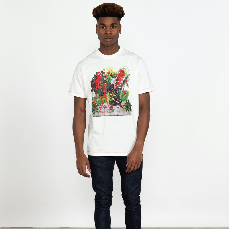 RVCA Bone Boys Tee Shirt - Antique White - Born Store