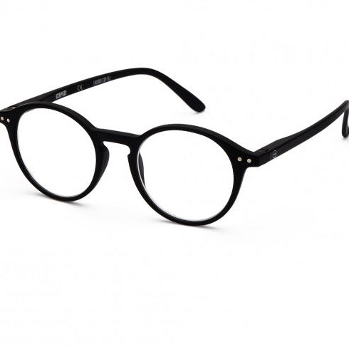 Izipizi Reading Glasses Style D - Black - Born Store