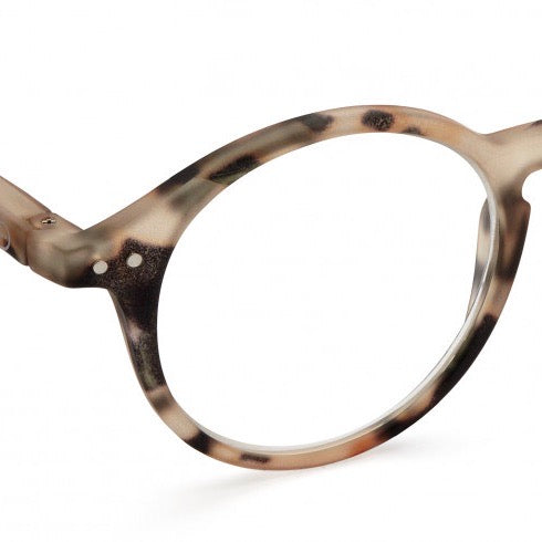 Izipizi Reading Glasses Style D - Light Tortoise - Born Store