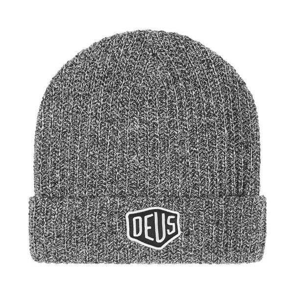 Deus Ex Machina Melange Beanie - Grey - Born Store