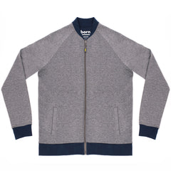 Born Graffo Sweat - Grey/Navy