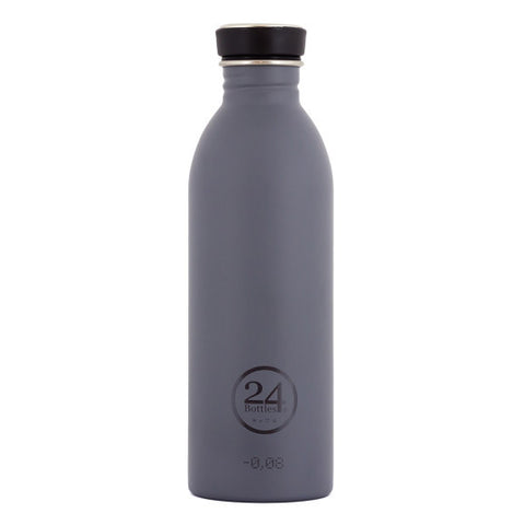 24 Bottles 500ml - Formal Grey