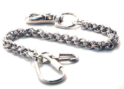 DOUBLE ROPE KEY LEASH 8""