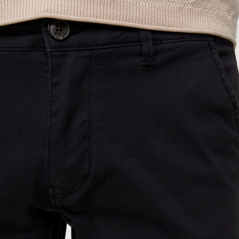 Selected Homme Straight Fit Paris Pant - Black - Born Store