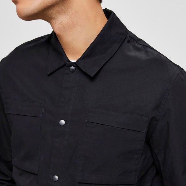 Selected Homme Roger Shirt  - Black - Born Store