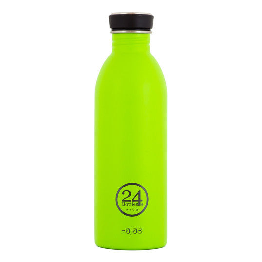 24 Bottles 500ml - Lime Green