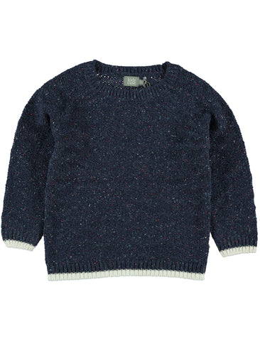 Kidscase Nat Navy Sweater| POCO KIDS