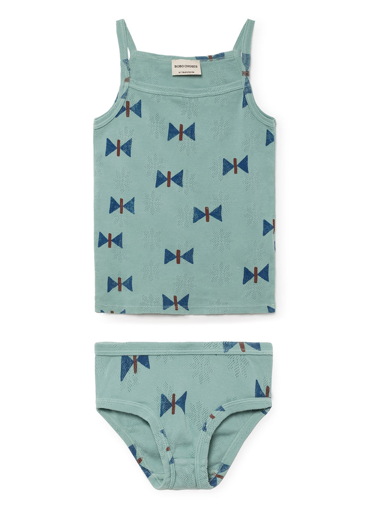 Bobo Choses Butterfly vest and brief set | POCO KIDS