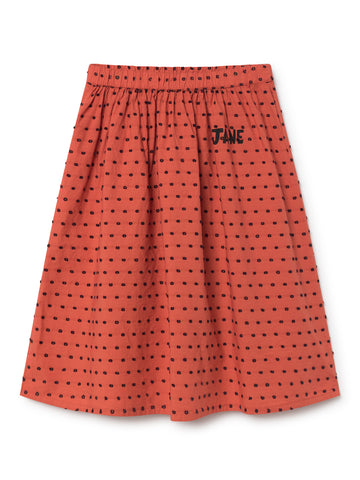 Bobo Choses Red Jane Midi Skirt | POCO KIDS