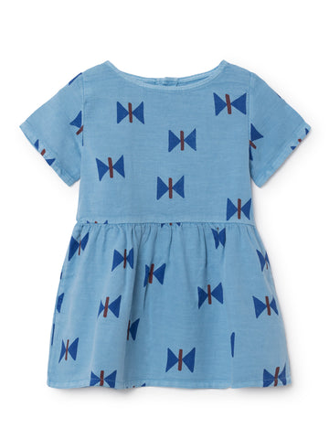 Bobo Choses Blue Butterfly Tee-dress | POCO KIDS