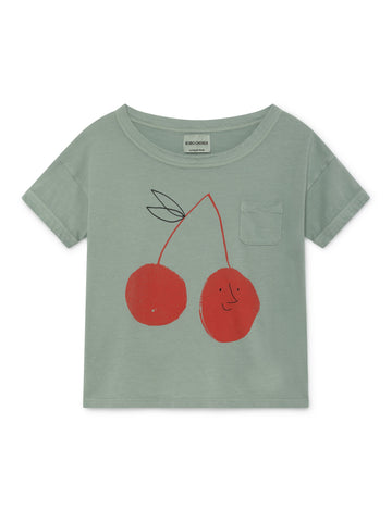 Bobo Choses Cherry  T-Shirt | POCO KIDS