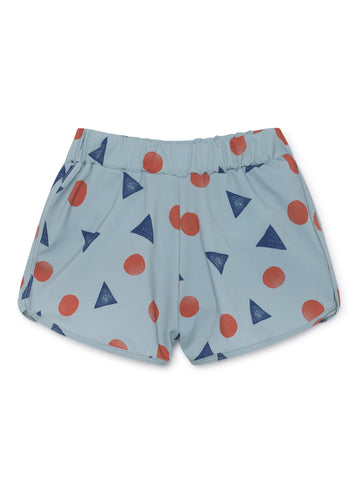 Bobo Choses Light Blue Pollen Swim Trunk | POCO KIDS