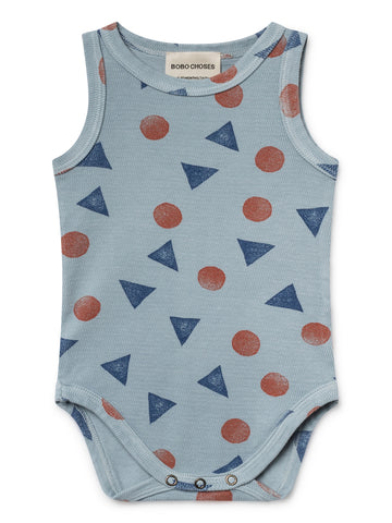 Bobo Choses Light Blue Pollen Tank Body | POCO KIDS