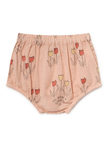 Bobo Choses Rose Pink baby bloomers with a poopy print | POCO KIDS