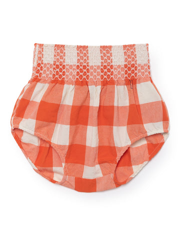 Red Vichy Check Baby Bloomers