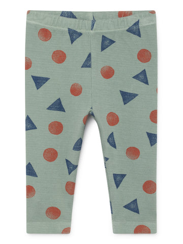 Bobo Choses Sage Green Pollen Leggings | POCO KIDS